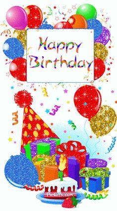 Happy Birthday My Dear Friend party glitter cake balloons birthday happy birthday birthday greeting birthday friend animated birthday birthday gif Happy Birthday Pictures, Happy Birthday Messages, Happy Birthday Quotes, Happy Birthday Greetings, Happy Birthday Sparkle, Birthday Pins, Birthday Blessings, Birthday Clipart, Happy B Day
