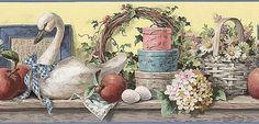 Floral Wallpaper - Wallpaper Border