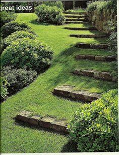 Steps to Pond