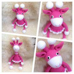 Häkeltier Spielzeug Kuscheltier Giraffe Amigurumi Toy Baby Kind Handarbeit in Spielzeug, Stofftiere, Sonstige | eBay