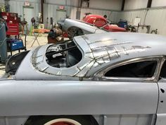 Chop out & patch up Vintage Cars, Antique Cars, Mazda Roadster, Custom Metal Fabrication, Metal Shaping, Auto Body Repair, Ford Classic Cars, Lead Sled, Kustom