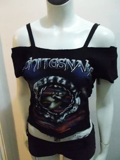 Whitesnake t-shirt reconstruction