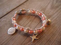 #armband #zomer #sieraden #workshop #leer #roze