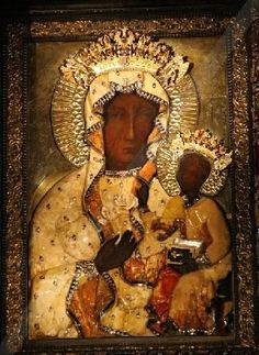 The Black Madonna of Poland I still can't describe the feelings I had while kneeling in front of this portrait.
