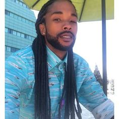 Can we say eye candy :-) ... Loc game: properest. | 27 Men Who Prove That Dudes Can Rock Natural Hair Too