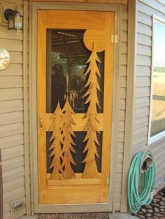 Rustic Screen Amp Storm Doors Featuring Your Favorite Nature