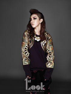 2NE1 in 1st Look Vol. 25