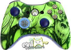 Glow in the Dark Xbox 360 Controller