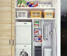small laundry room design ideas sliding door laundry organizers wall shelves
