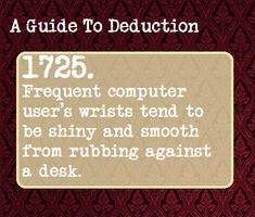 A Guide To Deduction -SH
