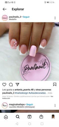 Manicure And Pedicure, Erika, Summer Nails, Nail Designs, Hair Beauty, Shirt, Boyfriends, Pretty Gel Nails, Cute Nails