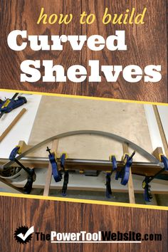 Learn how to build cabinet shelves using plywood, simple dowel pins, and an easy-to-apply veneer edge banding. Woodworking For Kids, Easy Woodworking Projects, Woodworking Plans, Wood Projects That Sell, Easy Wood Projects, Built In Cabinets, Base Cabinets, Diy Kids Furniture, Wood Furniture