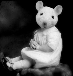 mousegirl portrait.  What is this? A genetic mutation? I'm scared.