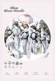 Album Blouses Nouvelles: Five Springtime Fashions