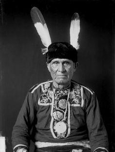 Main-Ans (aka Little Wolf) - Ojibwa – 1908