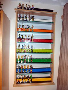 Lego mini figure display case.