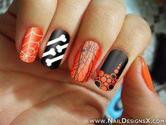 great halloween nail art » Nail Designs & Nail Art