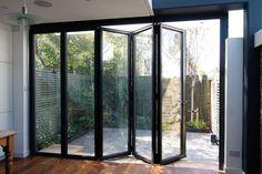 Aluminium Swing Door and bi-fold door