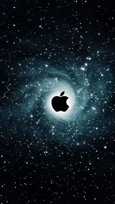 iPhone 5 Wallpaper Apple galaxy