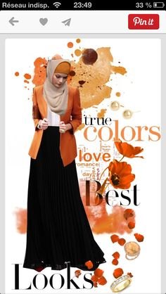 # Sunset Fashion # hijab fashion