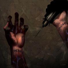 #bioshock hands art