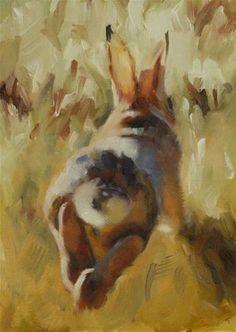"""Run, Rabbit, Run!"" by Pamela Poll"