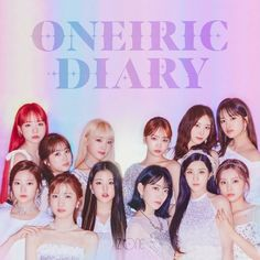 Kpop Girl Groups, Kpop Girls, Diary Covers, Yu Jin, Japanese Girl Group, Pop Songs, Mp3 Song, Extended Play, 3 In One