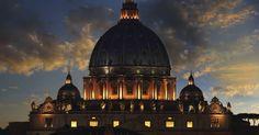 Travel & Adventures: Vatican City ( Stato della Città del Vaticano ). A voyage to Vatican City, West Europe, Italy, Rome, St Peter's Basilica and Piazza San Pietro.
