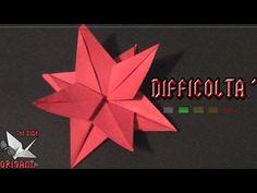Dude's Daily Origami - Fiore Stella Di Natale (Tutorial In Italiano) - YouTube