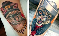 Memorializing your cat by getting a tattoo is a great way to keep your cat with you wherever you go