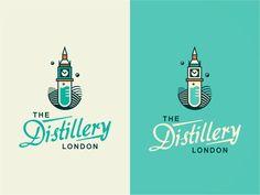 The Distillery London [ #1/WIP] by szende brassai, via Behance