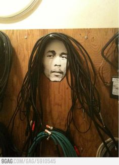 How to hang your studio cables the right way!