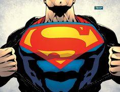 Superman Rebirth Clark Kent, Dc Comics, Pin Up, Cover Pages