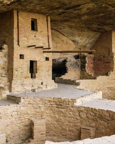 Balcony House in Mesa Verde National Park, Colorado, one of the four national parks in Colorado.