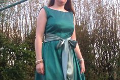 Sorbet Surprise gets Sew Crafty!: Emerald City Wedding Party Dress