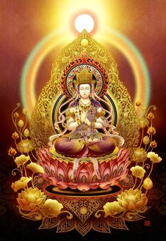 Buddha Painting, Buddha Art, Buddhism Wallpaper, Lion Photography, Chinese Mythology, Indian Folk Art, Thai Art, Goddess Art, Krishna Art