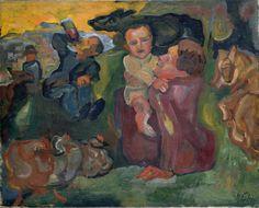 """amare-habeo: """"Henri Epstein (Polish, 1892 - 1944) Family, 1920 """""""