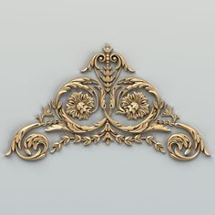 carved corner decor 3D Parisian Chic Decor, House Front Wall Design, Cnc Cutting Design, 3d Interior Design, Iron Wall Decor, 3d Cad Models, Wood Carving Designs, Free To Use Images, Baroque Art