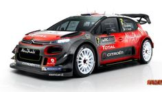 Citroen Total Abu Dhabi World Rally Team is the last team to unveil its car for the 2017 World Rally Championship. There is Citroen WRC Citroen Sport, Citroen C3, Citroen Concept, Peugeot, Auto Motor Sport, Motor Car, Mercedes Amg, Nascar, American Muscle Cars