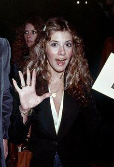 Stevie in 1978, Robin in the background.