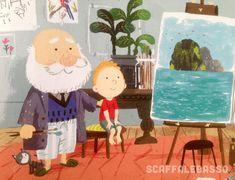 Benji Davies, Grandad's Island, Simon&Schuster