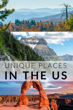 35 Most Unique Places to Visit in the US 35 Most Unique Places to Visit in the US From sea to shining sea, there are countless natural wonders in the United States. Whether you're into snow-c. Us Travel Destinations, Places To Travel, New Orleans, New York, Beautiful Places To Visit, Cool Places To Visit, Best States To Visit, Vacation Trips, Vacation Travel