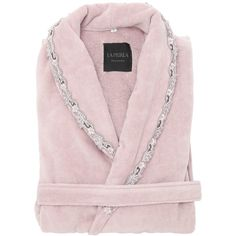 c4fa0ae702 La Perla Home Petite Maison Cotton Bathrobe (960 BRL) ❤ liked on Polyvore  featuring