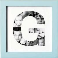 Great photo collage idea. Could use in birth announcement or card.