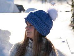 Ravelry: Frosty Waves Lue pattern by Hilde Sørum Wave Design, Stockinette, Needles Sizes, Snug, Ravelry, Winter Hats, Waves, Knitting, Pattern