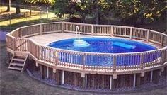 Cool Above Ground Pool Ideas - Bing Images