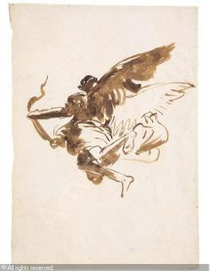 TIEPOLO Giovanni Domenico, 1727-1804 (Italy) Title : Saint Lawrence carried up to heaven by angels Date :