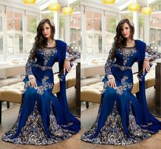 Evening Dresses 2017 Luxury Arabic Islamic Jewel Neck Embroidery Crystal Beaded Royal Blue Long Formal Dubai Abaya Party Dress Prom Gowns Evening Dresses 2017 Dresses Evening Wear 2016 Evening Dress Online with 212.58/Piece on Haiyan4419's Store | DHgate.com