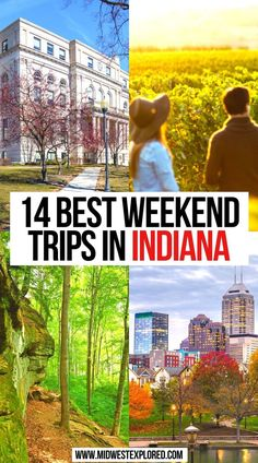 14 Best Weekend Trips in Indiana | Best Indiana Weekend Trips | getaway ideas indiana | weekend getaway indiana | quick weekend getaways indiana | weekend trips in indiana | indiana weekend trips | indiana travel | indianapolis girls weekend | romantic weekend getaways indiana | things to do in indiana | #weekendgetaways #indiana #usa #travel