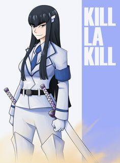 Satsuki Kiryuin, Blue Aura, I Adore You, Deviantart, Anime, Sons, Cartoon Movies, Anime Music, Animation